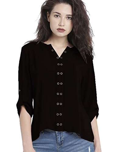 Leriya Fashion Women's Diamond Crepe Western Top (LF-w1092)