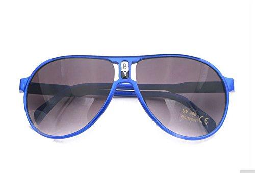 Gespout Summer Fashion Kids Sunglasses Retro Sunglasses Star Large Frame UV Protective Glasses