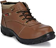 Kavacha Pure Leather Steel Toe Safety Shoe, SN47