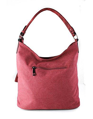 RedFox , Damen Schultertasche Rot