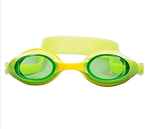 HL Lunettes-Brouillard Enfant Imperméable Lunettes De Natation Uv Équipé Avec Enfant , Green,green
