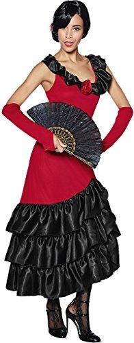 Golden Lutz - Damen Kostüm Flamencotänzerin | spanische Tänzerin | Modell 2 (S - 36/38) (Spanische Tänzerin Kostüm)