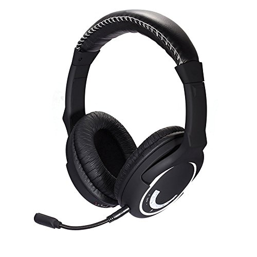 HUHD 2.4Ghz Wireless Gaming Headset Multifunction Stereo Sound Compatible With Playstation, Microsoft Xbox Device