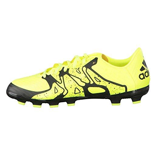 Adidas x 15.3HG J–Bottes pour enfant Multicolore - Noir/jaune