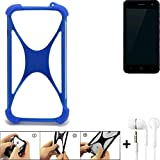 K-S-Trade Mobile Phone Bumper for ZTE Blade L7A Silicone