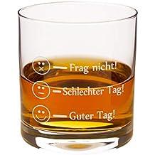 glas mit sprüchen für freund