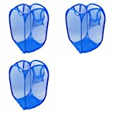 #9: Moira 3 pcs 20 L Mesh Foldable Laundry Bag/Basket (Assorted Colors) (3)