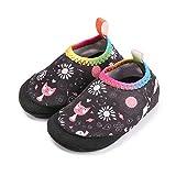 Laiwodun Chaussures d'Eau Plage Chaussons Bébé Chaussettes de Natation Piscine Vacances à la mer Enfant Fille Garcon