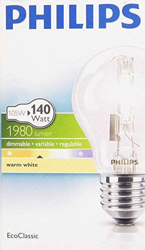 Philips 321482 Ampoule à Economie d'Energie E27 105 W