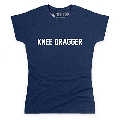 Knee Dragger T-Shirt, Damen Dunkelblau