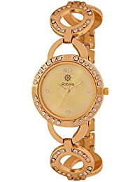 Rabela Analog Golden dial Women's Watch WT-291