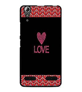 PrintDhaba Quote D-2673 Back Case Cover for LENOVO A6000 PLUS (Multi-Coloured)