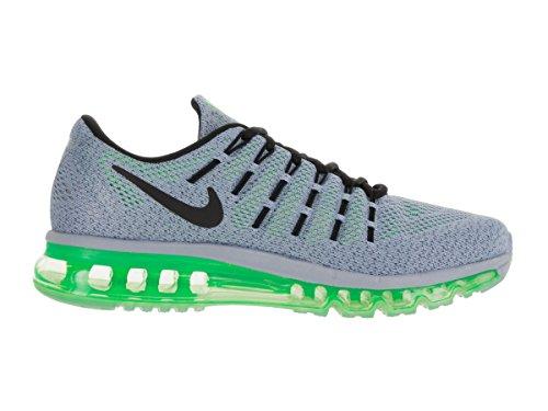 Nike Air Max, Chaussures de Running Entrainement Homme gris - Gris (Gris (Bl Grey/Blk-Elctrc Grn-Ocn Fg))