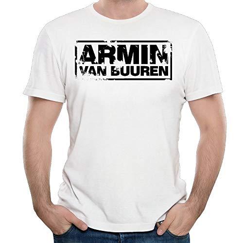 Welikee T-Shirt, Herren-Kurzarmshirt, Men Armin Van Buuren Tops Shirt Comfortable Cotton Hip-hop Youth Boys T Shirts -