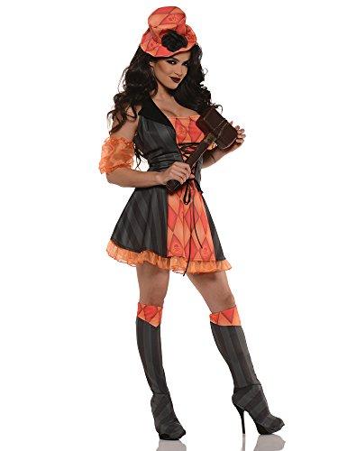 Twisted -Böser Clown- Kostüm Damen Gr. S