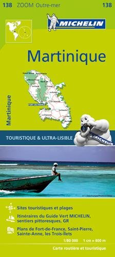 Carte Martinique Michelin par Collectif Michelin