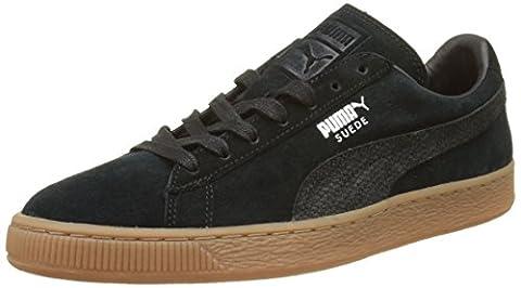 Puma Suede Classic Citi, Sneakers Basses Mixte Adulte, Noir (Puma Black 03), 37 EU
