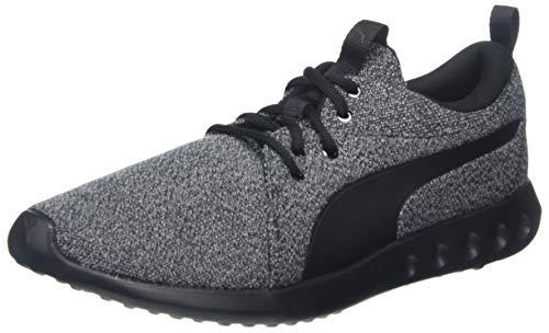 PUMA Carson 2 Knit NM, Zapatillas de Running para Hombre, Black Black, 46 EU
