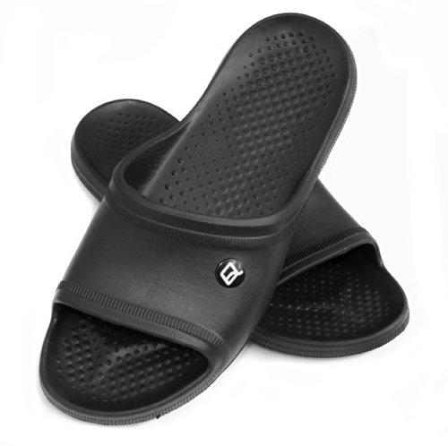AQUA-SPEED Homme Chaussures/pantoufles-très léger noir