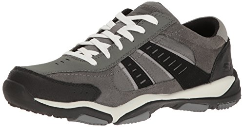 skechers-mens-larson-sotes-suede-leather-cushioned-casual-trainers