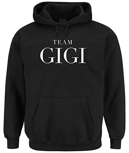 Team Gigi Hooded-Sweater Black Certified Freak-S