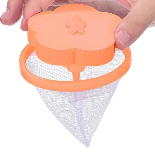 ne Schwimmende Lint Mesh Bag Hair Filter Net Pouch Maschine Lint Filterbeutel zum Waschen Wäsche Mesh Filtern Hair Catcher Floating Ball Pouch Floating Pet Fur Catcher (I) ()