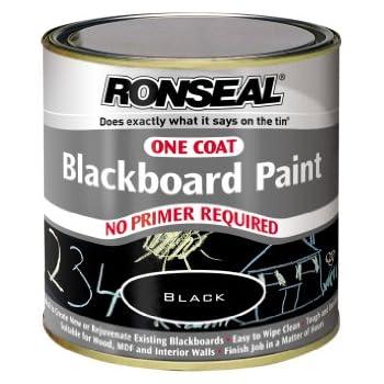 Ronseal OCBBP250 One Coat Blackboard Paint 250ml