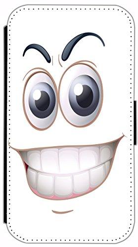 Kuna Flip Cover für Apple iPhone 5 / 5s Design K407 London Big Ben Bus Doppeldecker England Hülle aus Kunst-Leder Handy Tasche Etui mit Kreditkartenfächern Schutzhülle Case Wallet Buchflip Rückseite S K402