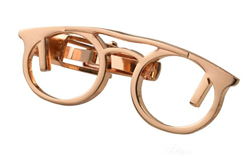 TIE PIN - ROSE GOLD SPECTACLES