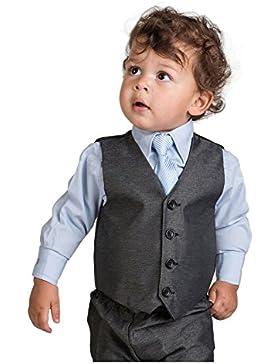 Brillante Penny De niño Carbón & Azul Traje, Página juegos del muchacho, 3 meses - 8 años