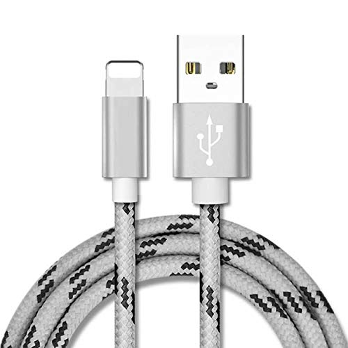 Higher-year for iPhone Wire ZRL® Metal Braided Wire Sync Materials Charger USB Wire for iPhone X/8/8 Coupled with/7/7 With an uniqueness further of/6s/6s Increased by/6/6Reinstatement/5s/5c/5, iPad/iPod