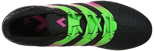 adidas Ace 16.3 Tf, Scarpe da Calcio Uomo Cblack/Sgreen/Shopin