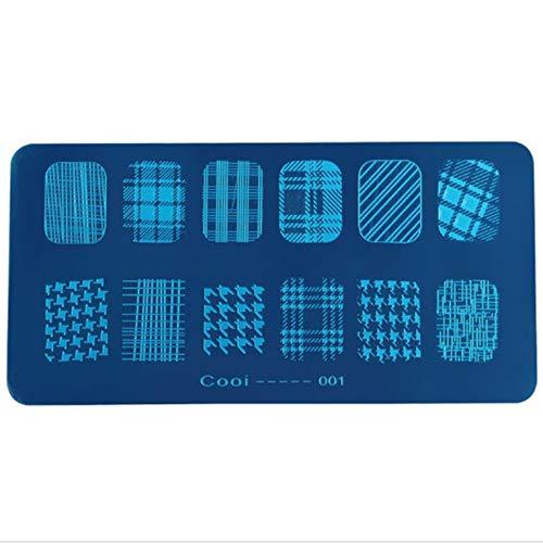 36 patrones bricolaje Nail Art herramientas impresión