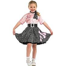 Rock n Roll Girl - Child Costume - XL - 148 centimetri 6bc7101178e