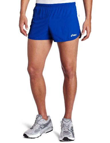 1/2 Split Shorts (ASICS Herren Intensity 1/2 Split Short, Herren, Royal/Weiß, X-Large)