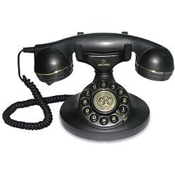 Brondi Vintage 10 Téléphone fixe Noir