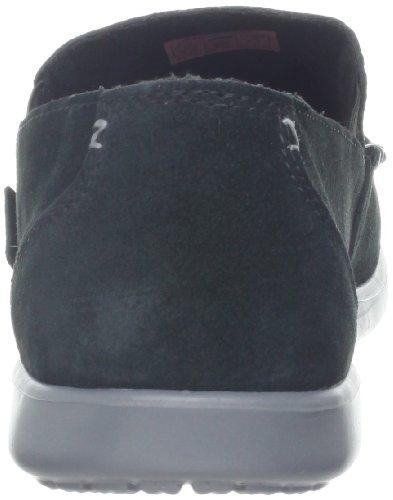 crocs Men's 14756 Santa CZ SDE Loafer,Black/Charcoal,7 M US Black/Charcoal