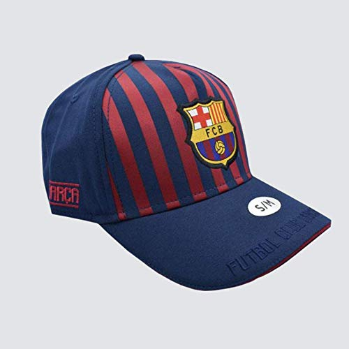 Gorra 1er Equip nº 19 junior FC. Barcelona 2018-2019 - Producto Licenciado - Talla S/M niño Regulable - Poliéster 100% - Si tuviera alguna duda póngase en contacto con nosotros.