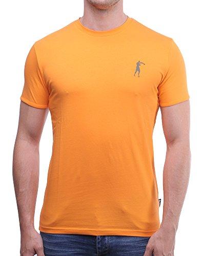 BOXEUR DES RUES Herren T-Shirt Bxe-2659d Arancione (Arancione)