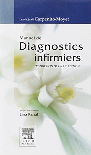 Manuel de diagnostics infirmiers par Lynda-Juall Carpenito-Moyet