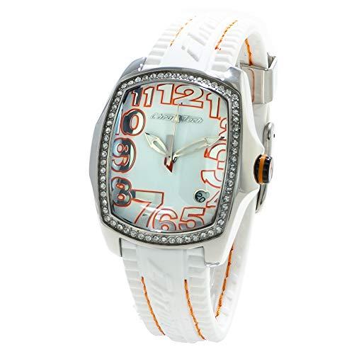 Chronotech orologio analogico quarzo donna con cinturino in gomma ct7016ls-09
