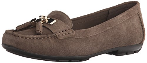 Anne Klein Oates Cuir Mocassin DK Taupe