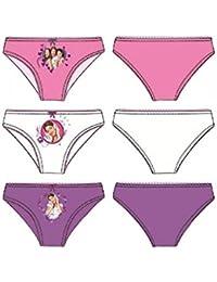 boite de 3 slips violetta (4/5, 6/8, 9/10 ans) (9/10 ANS)