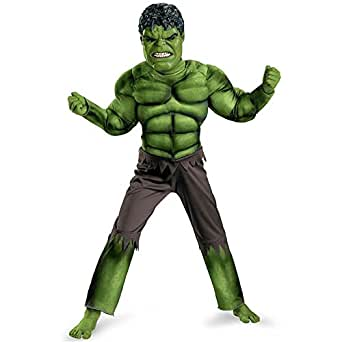 Disguise Limited Boys Child Avengers Hulk Muscle Fancy dress costume Medium (7-8)