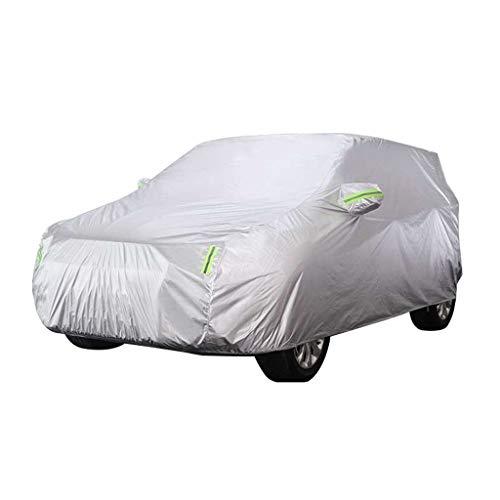 HXGL-Autoplanen Kompatibel Mit Aston Martin DB9 Allwettermodellen Autoabdeckung Oxford-Stoff Staubdicht Regenisolierung Vier Jahreszeiten Verfügbar (Color : Silver) - Db9-verbindung
