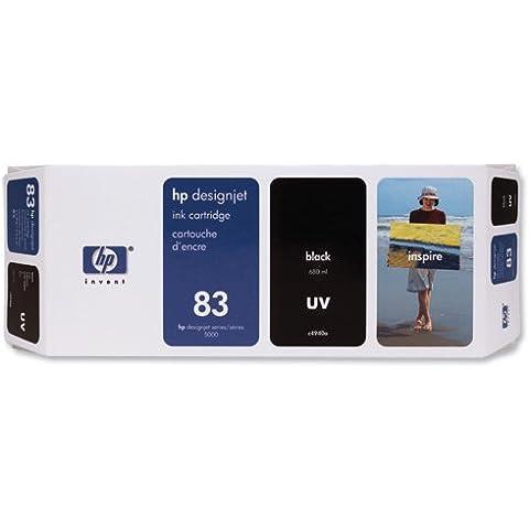 HP C4940A cartucho de tinta - Cartucho de tinta para impresoras (Negro, 680 ml, HP Designjet 5000/5500, -40 - 60 °C, 5 - 40 °C, 950g)