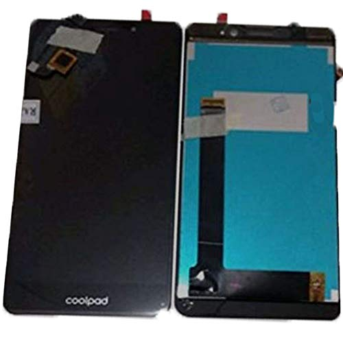 LCD + Touchscreen Combo Folder Compatible for Coolpad Mega 2.5 d Black