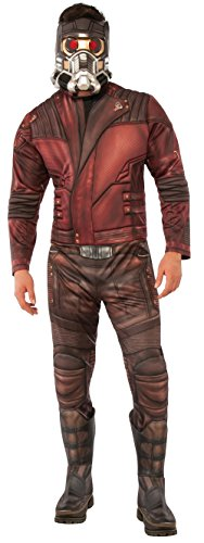 stüm Guardians of the Galaxy 2-Lizenzkostüm rot-braun M/L (Guardians Of The Galaxy-star Lord Kostüm)