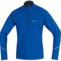 GORE RUNNING WEAR Herren Thermo-Lauf-Jersey, GORE Selected Fabrics, ESSENTIAL Thermo Zip Shirt long, SESTHZ