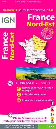 802 FRANCE NORD-EST 1/350.000